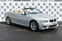 USED 2010 10 BMW 3 SERIES 3.0 330D M SPORT 2d AUTO 242 BHP LEATHER SATNAV
