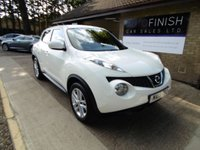 USED 2013 13 NISSAN JUKE 1.6 ACENTA 5d 117 BHP * FULL SERVICE HISTORY WITH 4 STAMPS * 2 KEYS * BLUETOOTH *