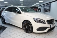 USED 2017 17 MERCEDES-BENZ A CLASS 1.6 A 200 AMG LINE PREMIUM DCT 160 BHP NIGHT PACK FULL HEATED LEATHER