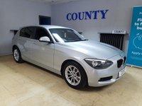 USED 2013 63 BMW 1 SERIES 2.0 116D SE 5d 114 BHP * SERVICE HISTORY * 12 MONTH MOT *