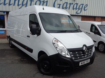 2016 RENAULT MASTER 2.3 LM35 BUSINESS DCI S/R P/V 1d 125 BHP £6500.00