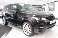 USED 2016 66 LAND ROVER RANGE ROVER SPORT 4.4 SDV8 AUTOBIOGRAPHY DYNAMIC AUTO 339 BHP PAN ROOF 22'S FLRSH 1 OWNER!