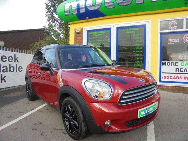 USED 2014 14 MINI COUNTRYMAN 2.0 COOPER D 5d AUTO 110 BHP ***TEST DRIVE TODAY***JUST ARRIVED..01922 494874**