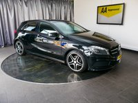 USED 2013 13 MERCEDES-BENZ A CLASS 1.8 A200 CDI BLUEEFFICIENCY AMG SPORT 5d 136 BHP £0 DEPOSIT FINANCE AVAILABLE, AIR CONDITIONING, AUTOMATIC HEADLIGHTS, AUX INPUT, BLUETOOTH CONNECTIVITY, CLIMATE CONTROL, CRUISE CONTROL, ELECTRONIC PARKING BRAKE, START/STOP SYSTEM, STEERING WHEEL CONTROLS, TRIP COMPUTER, USB INPUT, VOICE CONTROLS