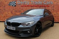 2016 BMW 4 SERIES 3.0 430D XDRIVE M SPORT GRAN COUPE 4d AUTO 255 BHP £22990.00