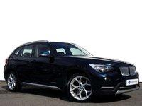 "USED 2013 63 BMW X1 2.0 XDRIVE20D XLINE 5d 181 BHP 18"" Y Spoke Alloy Wheels......Black Nevada Leather with Dab Radio......"