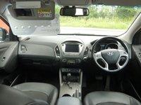 USED 2014 14 HYUNDAI IX35 2.0 CRDI SE NAV 5d AUTO 134 BHP TOUCH SCREEN SAT NAV,BLUETOOTH,AUTOMATIC