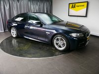 USED 2015 15 BMW 5 SERIES 2.0 520D M SPORT 4d AUTO 188 BHP £0 DEPOSIT FINANCE AVAILABLE, AIR CONDITIONING, AUTOMATIC HEADLIGHTS, AUX INPUT, BLUETOOTH CONNECTIVITY, CRUISE CONTROL, DAB RADIO, DAYTIME RUNNING LIGHTS, DRIVE PERFORMANCE CONTROL, ELECTRONIC PARKING BRAKE, FULL CREAM LEATHER UPHOLSTERY, GEARSHIFT PADDLES, HEATED SEATS, PARKING SENSORS, SATELLITE NAVIGATION, START/STOP SYSTEM, STEERING WHEEL CONTROLS, TRIP COMPUTER