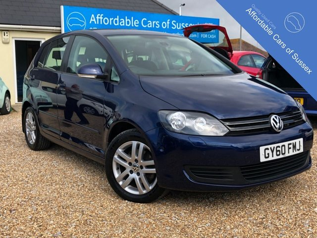 2010 60 VOLKSWAGEN GOLF PLUS 1.6 SE TDI 5d 103 BHP