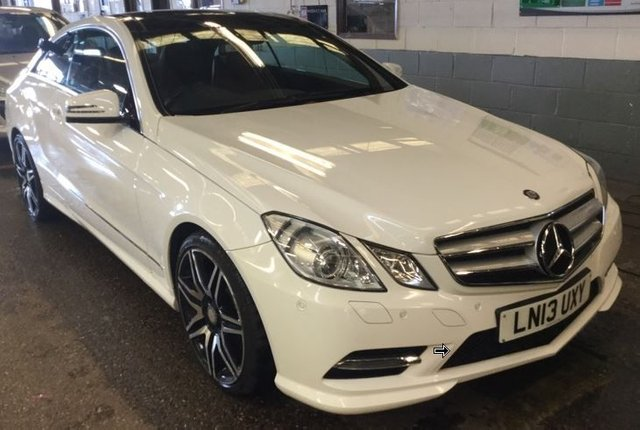 2013 13 MERCEDES-BENZ E CLASS 3.0 E350 CDI BLUEEFFICIENCY SPORT 2d AUTO 265 BHP NAVIGATION HEATED LEATHER PANORAMIC SUNROOF 19