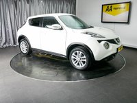 USED 2015 15 NISSAN JUKE 1.2 ACENTA PREMIUM DIG-T 5d 115 BHP £0 DEPOSIT FINANCE AVAILABLE, AUX INPUT, AIR CONDITIONING, BLUETOOTH CONNECTIVITY, CLIMATE CONTROL, DRIVE PERFORMANCE CONTROL, STEERING WHEEL CONTROLS, TOUCH SCREEN HEAD UNIT, TOUCH SCREEN HEAD UNIT, TRIP COMPUTER, USB PORT