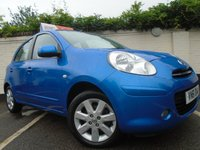2011 NISSAN MICRA 1.2 ACENTA DIG-S 5d 97 BHP £SOLD