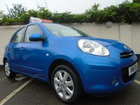 USED 2011 61 NISSAN MICRA 1.2 ACENTA DIG-S 5d 97 BHP GUARANTEED TO BEAT ANY 'WE BUY ANY CAR' VALUATION ON YOUR PART EXCHANGE