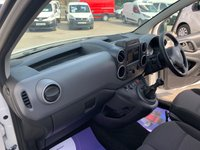 USED 2018 68 CITROEN BERLINGO 1.6 850 ENTERPRISE BLUE HDI  1 OWNER FROM NEW AIR CON & CRUISE CONTROL 40 + VANS IN STOCK SAME DAY LOW RATE FINANCE AVAILABLE
