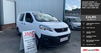 USED 2018 18 PEUGEOT EXPERT 1.6 PROFESSIONAL COMPACT 95 BHP 1 OWNER FROM NEW 6 SEAT CREW VAN