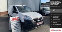 USED 2016 66 PEUGEOT PARTNER 1.6 BLUE HDI PROFESSIONAL 100 BHP AIR CON & CRUISE CONTROL 40 + VANS IN STOCK SAME DAY LOW RATE FINANCE AVAILABLE