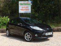 USED 2012 62 FORD FIESTA 1.25 ZETEC 5dr Air Con & Alloys
