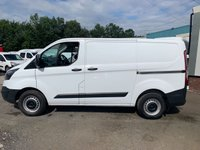 USED 2016 66 FORD TRANSIT CUSTOM 2.0 290 105BHP 1 OWNER FROM NEW LOW MILES & AIR CON