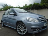 2009 MERCEDES-BENZ B CLASS 1.5 B150 SPORT 5d AUTOMATIC 95 BHP £SOLD
