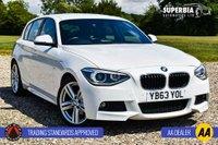 USED 2014 63 BMW 1 SERIES 2.0 120D M SPORT 5d AUTO 181 BHP