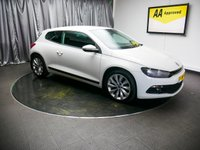 USED 2012 12 VOLKSWAGEN SCIROCCO 2.0 GT TDI BLUEMOTION TECHNOLOGY 2d 140 BHP £0 DEPOSIT FINANCE AVAILABLE, AIR CONDITIONING, AUTOMATIC HEADLIGHTS, AUX INPUT, BLUETOOTH CONNECTIVITY, CLIMATE CONTROL, DRIVE PERFORMANCE, FM/AM RADIO, START/STOP SYSTEM, STEERING WHEEL CONTROLS, TOUCH SCREEN HEAD UNIT, TRIP COMPUTER