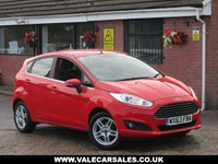 USED 2013 63 FORD FIESTA 1.0 ZETEC (£0 ROAD TAX) 5dr £0 A YEAR ROAD TAX + SERVICE HISTORY