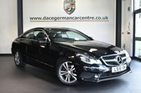 "USED 2015 15 MERCEDES-BENZ E CLASS 2.1 E220 BLUETEC SE 2DR 174 BHP superb service history * NO ADMIN FEES * OBSIDIAN BLACK WITH  FULL LEATHER INTERIOR + SUPERB SERVICE HISTORY + COMAND SATELLITE NAVIGATION + BLUETOOTH + HEATED SEATS + DAB RADIO + DIRECT START / ECO START/STOP FUNCTION + ACTIVE PARK ASSIST + 17"" ALLOY WHEELS"