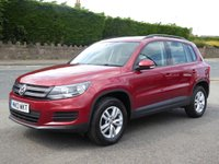 2013 VOLKSWAGEN TIGUAN 2.0 S TDI BLUEMOTION TECHNOLOGY 4MOTION 5d 138 BHP £8995.00