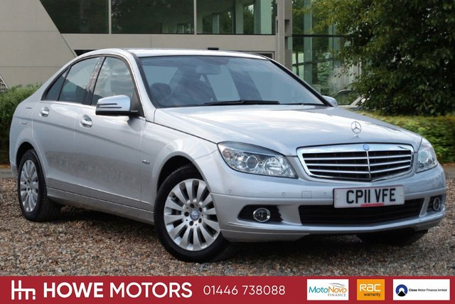 2011 11 MERCEDES-BENZ C CLASS 2.1 C220 CDI BLUEEFFICIENCY ELEGANCE 4d AUTO 170 BHP FULL HEATED LEATHER CRUISE CONTROL ONLY 43,000 MLS FULL MERCEDES-BENZ HISTORY