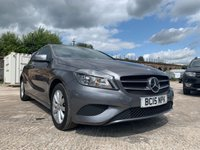 USED 2015 15 MERCEDES-BENZ A CLASS 1.5 A180 CDI BLUEEFFICIENCY SE 5d 109 BHP 2KEYS+HALF LEATHER+PRIVGLASS+ALLOYS+0 ROAD TAX+NAV+AIRCON+ELECS+