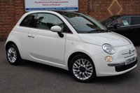 USED 2015 64 FIAT 500 1.2 LOUNGE 3d 69 BHP * LOW MILEAGE *