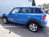 USED 2012 12 MINI COUNTRYMAN 1.6 COOPER D ALL4 5d 112 BHP £155 A MONTH PEPPER PACK ALL WHEEL DRIVE BLUETOOTH AUDIO INTERFACE SUPPLIED WITH SERVICE AND MOT