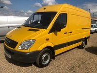 USED 2013 13 MERCEDES-BENZ SPRINTER 2.1 313 CDI MWB 1d 129 BHP AIR CONDITIONING * CRUISE CONTROL* ONE OWNER FROM NEW