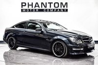 USED 2012 12 MERCEDES-BENZ C CLASS 6.2 C63 AMG EDITION 125 2d AUTO 457 BHP