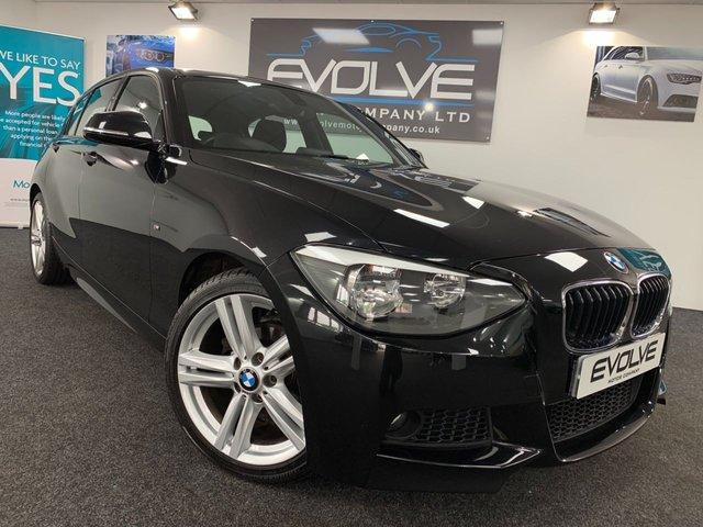 2013 63 BMW 1 SERIES 2.0 118D M SPORT 5d AUTO 141 BHP