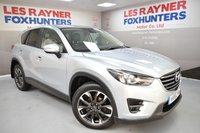 USED 2016 16 MAZDA CX-5 2.2 D SPORT NAV 5d 148 BHP Sat Nav, Leather, Cruise control, Bluetooth, LED Headlights