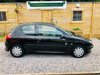 2004 PEUGEOT 206 1.1 INDEPENDENCE 3d 60 BHP £1295.00