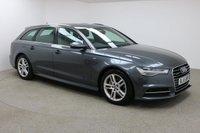 USED 2016 65 AUDI A6 3.0 AVANT TDI QUATTRO S LINE 5d AUTO 215 BHP Finished in a stunning tornado grey is this beautiful Audi A6 + SAT NAV+ BLUETOOTH+ DAB RADIO+ QUAD CLIMATE CONTROL+ S-LINE+ QUATTRO+ FULL LEATHER HEATED SEATS