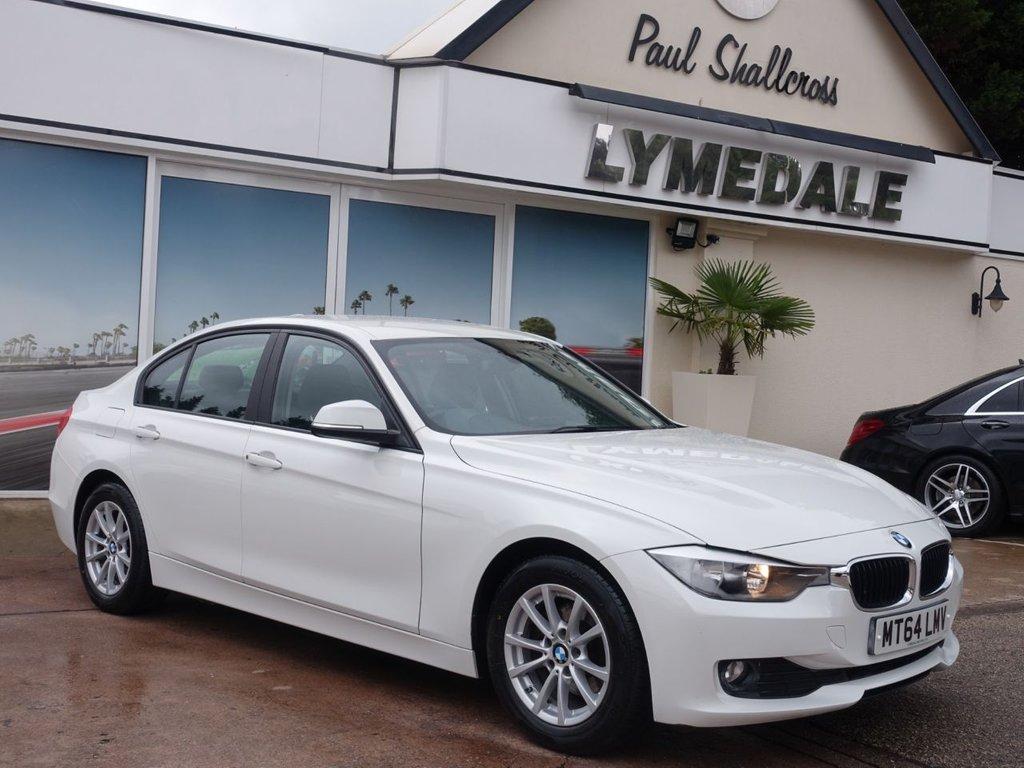 USED 2014 64 BMW 3 SERIES 2.0 320D EFFICIENT DYNAMICS BUSINESS 4d 161 BHP