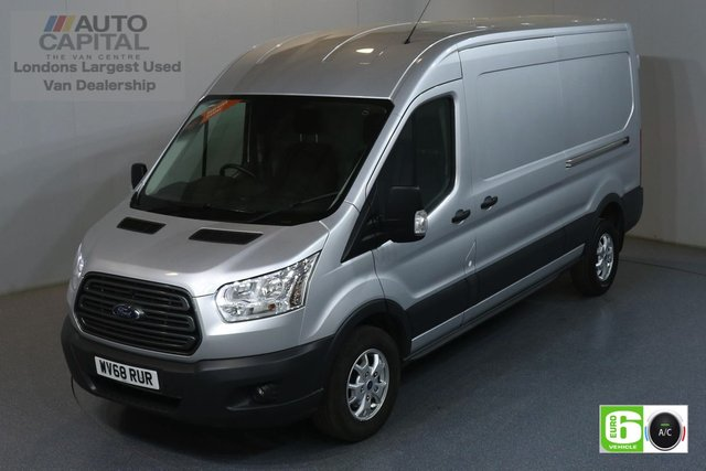 2018 68 FORD TRANSIT 2.0 350 TREND L3 H2 129 BHP EURO 6 ENGINE AIR CON, FRONT-REAR PARKING SENSORS, ALLOY WHEEL