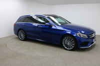 USED 2016 16 MERCEDES-BENZ C CLASS 2.1 C250 D AMG LINE PREMIUM PLUS 5d AUTO 204 BHP Finished in a stunning blue is this Mercedes Benz C22D 1 OWNER + SERVICE HISTORY + SAT NAV + PANORAMIC SUNROOF + DAB RADIO + BURMESTER SOUND SYSTEM + REAR CAMERA + HEATED MEMORY SEATS