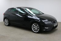 USED 2015 15 SEAT LEON 1.4 ECOTSI FR TECHNOLOGY 5d 150 BHP Finished in stunning black is this 1 owner Seat Leon FR 1 OWNER + PARKING SENSORS + LEATHER SEATS + CRUISE CONTROL