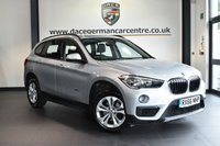 "USED 2016 66 BMW X1 2.0 XDRIVE18D SE 5DR 148 BHP full bmw service history * NO ADMIN FEES * FINISHED IN STUNNING GLACIER METALLIC SILVER WITH ANTHRACITE UPHOLSTERY + FULL BMW SERVICE HISTORY + SATELLITE NAVIGATION + BLUETOOTH + HEATED SEATS + DAB RADIO + ACTIVE GUARD + PERFORMANCE CONTROL + AUTO AIR CON + PARKING SENSORS + 17"" ALLOY WHEELS"