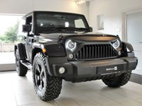 2015 JEEP WRANGLER 2.8 CRD OVERLAND 2d AUTO...QUAD EXHAUST, LEATHER, CAR-PLAY FOR APPS, BLUETOOTH. £27494.00
