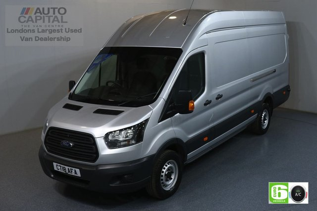 2018 18 FORD TRANSIT 2.0 350 L4 H3 JUMBO 129 BHP RWD EURO 6 ENGINE AIR CONDITION