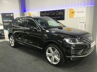 USED 2017 66 VOLKSWAGEN TOUAREG 3.0 V6 R-LINE PLUS TDI BLUEMOTION TECHNOLOGY 5d AUTO 259 BHP