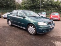 USED 2003 53 VAUXHALL ASTRA 1.6 CLUB 8V 4d LOW MILEAGE AND NEW MOT LOW MILEAGE AND NEW MOT