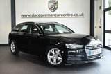 """USED 2016 16 AUDI A4 AVANT 2.0 AVANT TDI ULTRA SPORT 5DR 148 BHP full service history * NO ADMIN FEES * FINISHED IN STUNNING MITHOS BLACK WITH CLOTH UPHOLSTERY + FULL SERVICE HISTORY + SATELLITE NAVIGATION + BLUETOOTH + DAB RADIO + CRUISE CONTROL + CLIMATE CONTROL + HEATED MIRRORS + USB/AUX + PARKING SENSORS + 17"""" ALLOY WHEELS"""