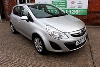 USED 2012 12 VAUXHALL CORSA 1.2 EXCLUSIV AC 5d 83 BHP +5 DOOR +SERVICED +FULL MOT.