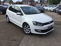 USED 2012 12 VOLKSWAGEN POLO 1.4 MATCH DSG 5d AUTO 83 BHP LOW MILEAGE AUTOMATIC WITH FULL SERVICE HISTORY
